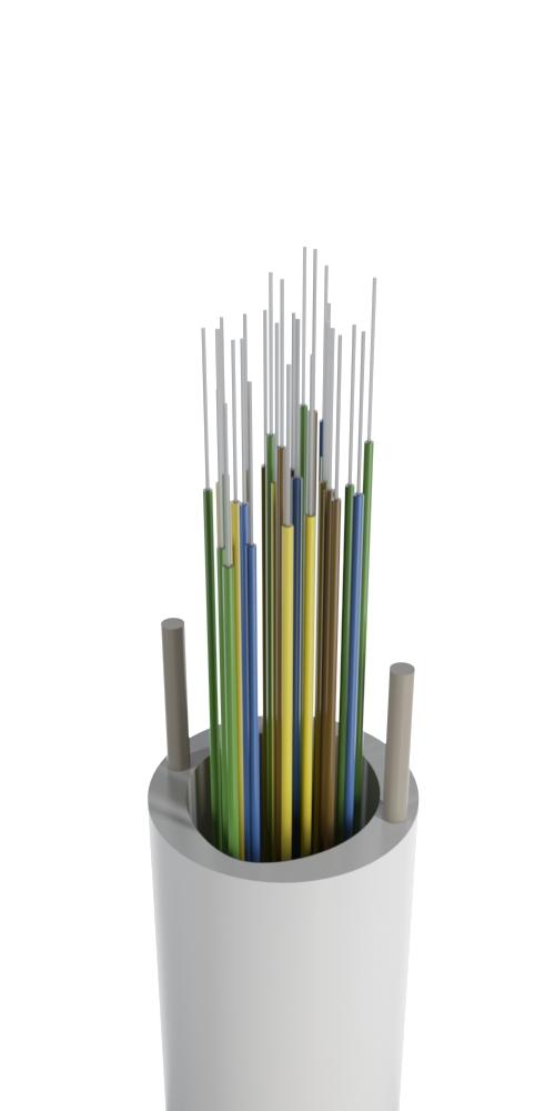 Кабель для вертикальной межэтажной прокладки (волокно в плотном буфере)