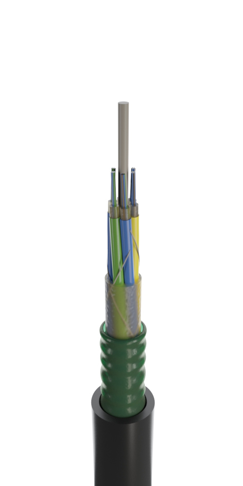 Кабель для прокладки в канализацию модульной конструкции (ОКСТМ)
