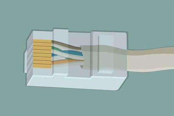 конектор RG-45 и кабель